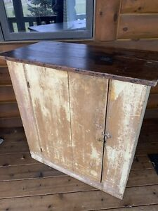 Vintage Wood Jelly Cupboard Cabinet