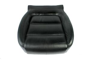 09 11 Vw Volkswagen Tiguan Front Left Driver Lower Seat Cushion Leather Black Oe