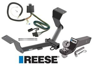 Reese Trailer Tow Hitch For 17 19 Honda Cr v Complete Package Wiring 2 Ball