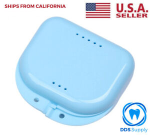 Dental Retainer Orthodontic Case For Invisalign Denture Mouthguard From Usa