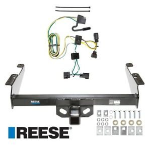 Reese Trailer Tow Hitch For 95 02 Dodge Ram 1500 2500 3500 W Wiring Harness Kit