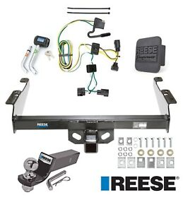 Reese Trailer Tow Hitch For 95 02 Dodge Ram 1500 2500 3500 Wiring 2 Ball
