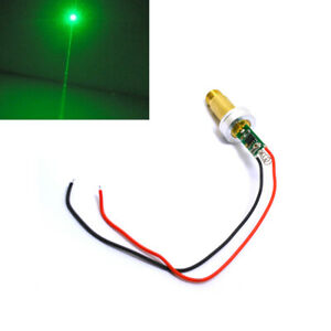 Powerful 532nm 100mw Green Laser Diode Module Dot Spring 3 0 3 7v With Heatsink