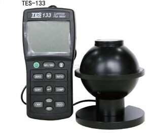 1pc Tes 133 Luminous Flux Meter Auto Ranging From 0 05 To 7000 Lumens spk2 Tk