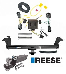 Reese Trailer Tow Hitch For 11 20 Dodge Caravan Town Country Ram Wiring 2 Ball