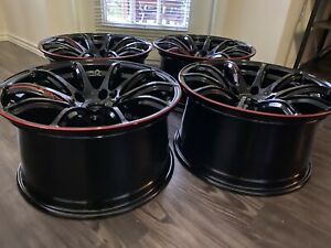 New Authentic Rays 57transcend Honda 17 19 Fk8 Type R 18x9 5 38 5x120 Wheels