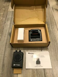 Motorola Minitor V Vhf 151 158 9975 Mhz Pager 1 ch A03kms9238bc New Unused