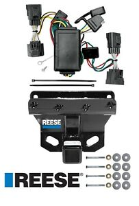 Reese Trailer Tow Hitch For 06 10 Jeep Commander W Wiring Harness Kit