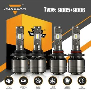 Auxbeam 9005 9006 Led Headlight Decoder For Chevrolet Tahoe 95 06 High Low Beam