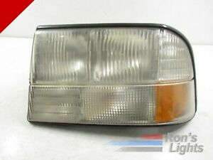 Genuine Oem 1998 1999 2000 2001 Gmc Jimmy Halogen Headlight Left lh driver
