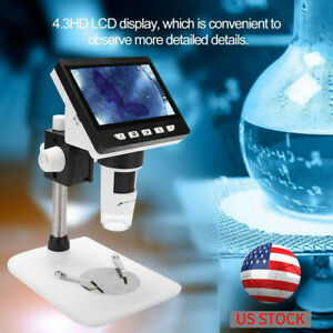 8led 1000x Usb Digital Microscope Endoscope Magnifier Camera Handheld Gift