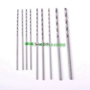 Stainless Steel Drill Bits Veterinary Orthopedics Instruments 10pcs set Tools