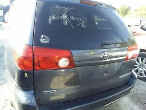 Trunk hatch tailgate Without Spoiler Fits 04 10 Sienna 1378786