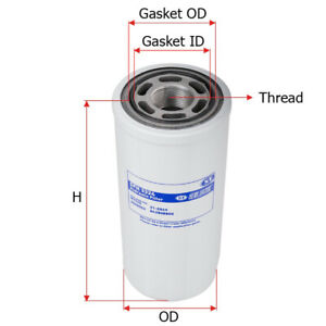 Sfh3324 Sure Filter Hydraulic Oil Filter replaces Case D94236 cat 9t5916