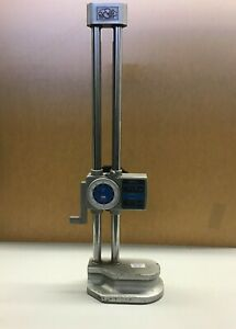 Mitutoyo 12 Dial Height Gage Model 192 150 Used Japan