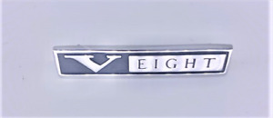 66 67 68 Plymouth Barracuda Valiant Satellite Belvedere V Eight Fender Emblem