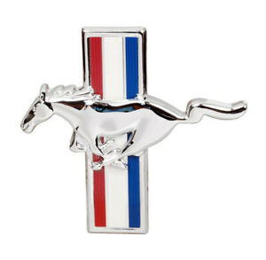 New 1971 1972 1973 Ford Mustang Mach 1 Grill Ornament Emblem Running Horse