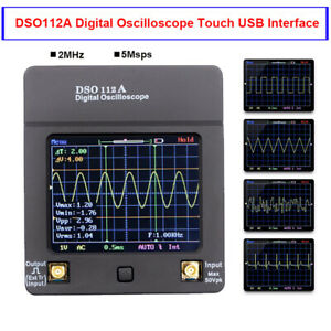 Dso112a Digital Oscilloscope Portable Handheld Tft Multimeter Tester 2mhz 5msps