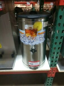 Used Bunn Tdo 4 Commercial Iced Tea Dispenser 4 Gallon No Nozzle