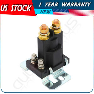 4 Pin 12v Relay Car Starter On Off Power Switch Dual Battery Isolator Amp 500a