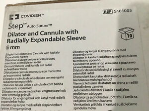 Covidien Step W Radially Expandable Sleeve 5mm Ref S101005 Exp 2023 01 31 10pcs