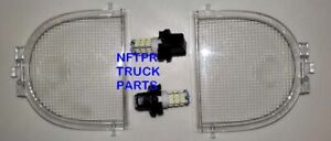 04 05 06 07 08 Ford Oem F150 08 2010 F250 F350 Light Lens For Overhead Console