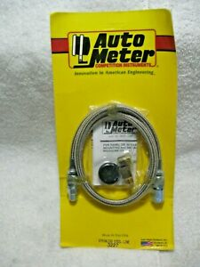 Autometer 3227 Gauge Tubing Braided Stainless Steel 4an Diameter 3ft Kit hot Rod
