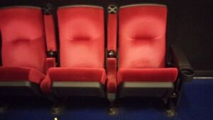 220 Used Auditorium Theater Church Seating Movie Chairs Seats Cheap 49 Each