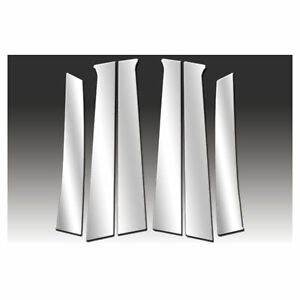 Premium Fx 6pc Polished Pillar Post Covers For 2008 2011 Chevy Aveo Hatchback