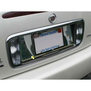 Luxury Fx Chrome License Plate Bezel For 2000 2005 Cadillac Deville