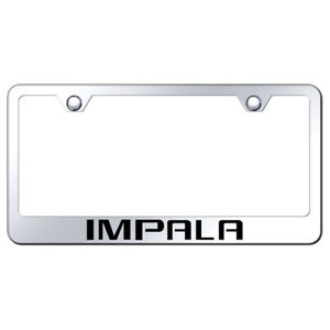 Stainless Steel License Plate Frame Officially Licensed For Chevrolet Impala