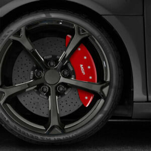 Set Of 4 Front And Rear Red Mgp Caliper Covers For 2015 2020 Gmc Yukon