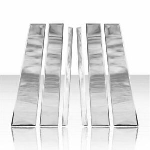 Pillar Post Cover Set For 2007 2016 Nissan Armada Stainless Steel