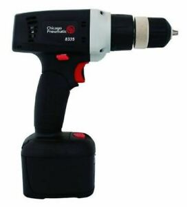 Chicago Pneumatic Cp8335l 3 8 inch 12 Volt Cordless Drill Kit With Lithium Batte