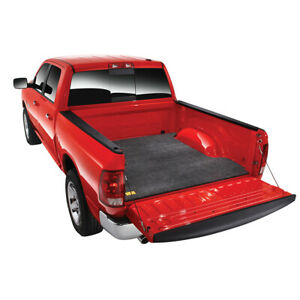 Bedrug 3 4 Carpet Truck Bed Mat For 2002 19 Dodge Ram 6 4 Bed W O Rail Storage