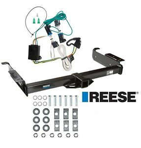 Reese Trailer Tow Hitch For 00 02 Express Savana 1500 2500 3500 W Wiring Kit