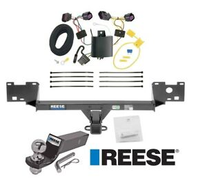 Reese Trailer Tow Hitch For 15 19 Ram Promaster City Complete Wiring And 2 Ball