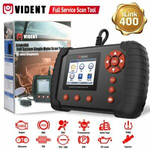 Usa Vident Ilink400 Full System Diagnostic Scan Tool Code Reader Abs Srs Epb Dpf