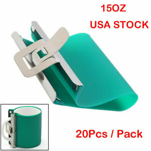 20pcs Sublimation Silicone Rubber Mug Clamps Wraps For 15oz Mugs Cup Usa