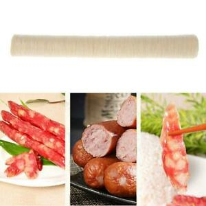 15m 30mm Natural Collagen Sausage Casing Skins Ham Hot Dog Smoked Fresh Shell