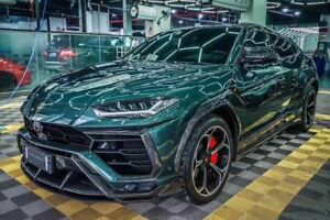 For Lamborghini Urus Tpc Style Carbon Fiber Full Wide Body All Aero Kits 32pcs