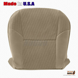 For 2010 2011 Toyota Tacoma Driver Bottom Cloth Replacement Seat Cover Beige Tan