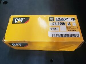 1744909 valve Group solenoid Cat Caterpillar Oem