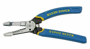 Wire Cutter And Wire Stripper With Screw Shearing Klein Tools K12055