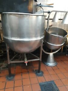 Groen 80 Gallon Steam Kettle Commercial Restaurant Equipment Usa