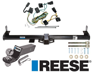 Reese Trailer Tow Hitch For 98 06 Jeep Wrangler Tj Complete W Wiring