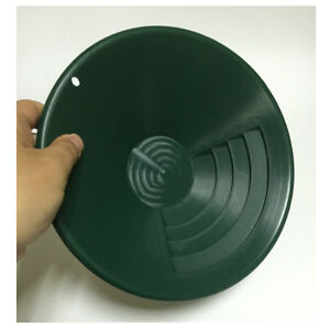 Gold Rush Sifting Classifier Screen Sieve Pan 10 Plastic Gold Pan Green Plastic
