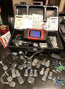 Snap On Modis Eems300 Diagnostic Tool Scanner Lots Of Accessories Keys