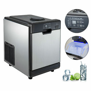 78lbs Ice Maker With Cool Water Dispenser Pp Ice Basket Ice Making Machine