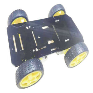 Remote Control Diy Robot Smart Car Chassis Kit With Speed Encoder For Arduino